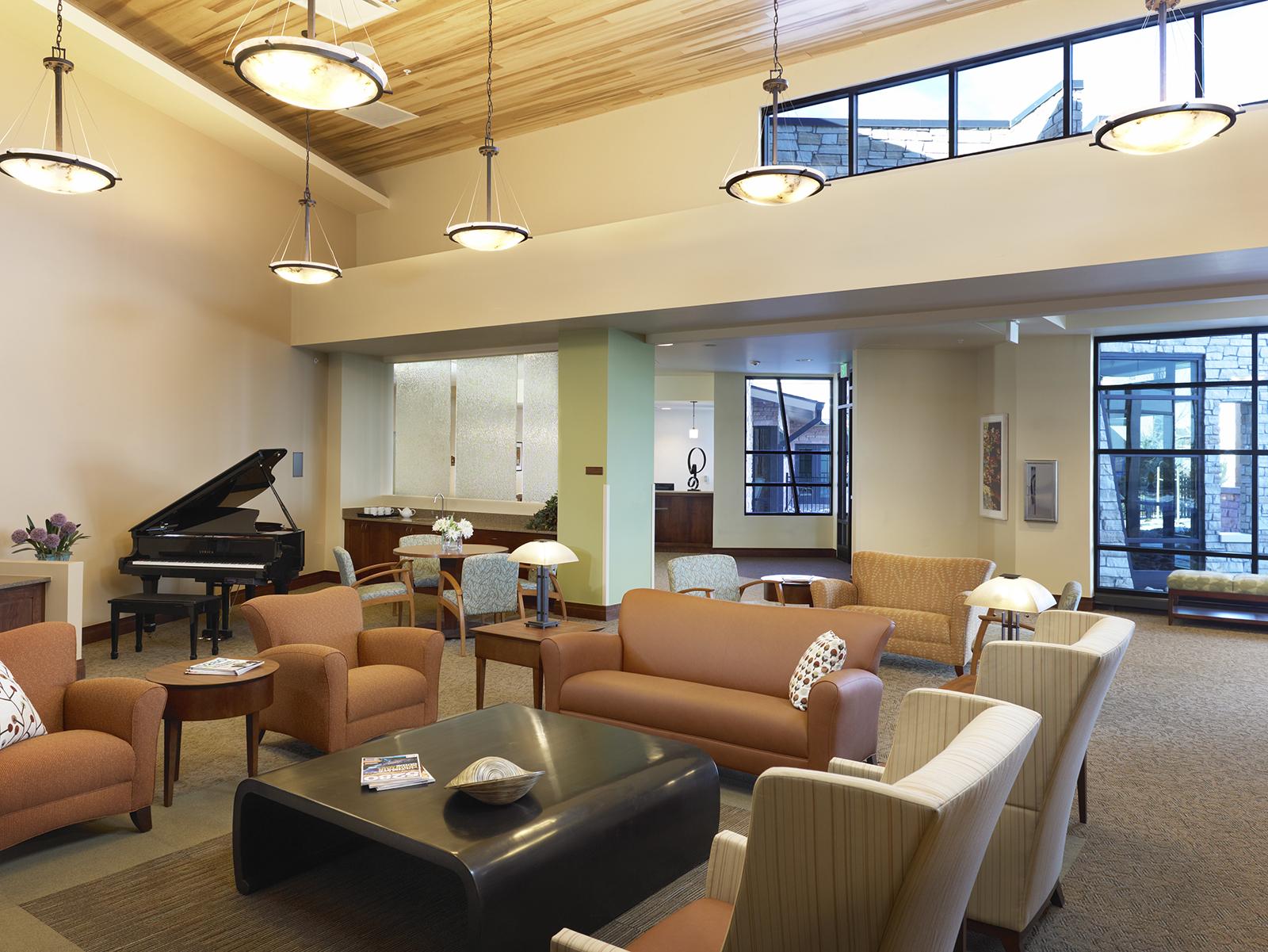 Denver Hospice Lowry Care Lounge