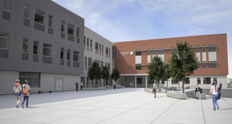 Aurora Science Technology School Rendering 1