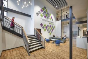 The Denver Hospice Support Center Lobby